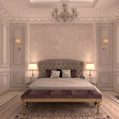 French classical villa:  Bedroom by dal design office