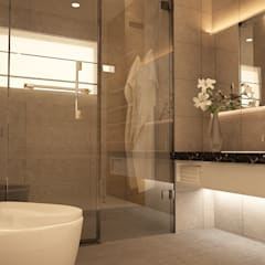Subang Parkhomes:  Bathroom by Yucas Design & Build Sdn. Bhd.