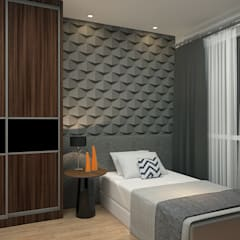 tropical Bedroom by Yucas Design & Build Sdn. Bhd.