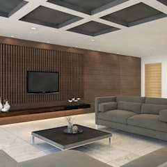 Living room by homify, Tropical