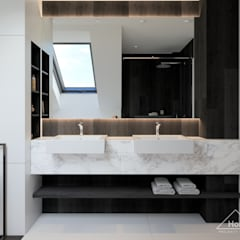 Projekt domu HomeKONCEPT 53: styl , w kategorii Łazienka zaprojektowany przez HomeKONCEPT   Projekty Domów Nowoczesnych
