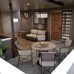 Terrasse von Architecture Creates Your Environment Design Studio