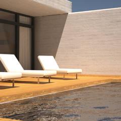 Garden Pool by Juan Millán Peregrín - Arquitecto autónomo