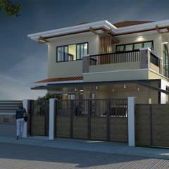 Projekty,  Dom wielorodzinny zaprojektowane przez Architecture Creates Your Environment Design Studio