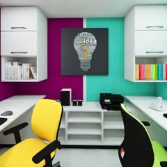 Estudio: Estudios y biblioteca de estilo  por Arquitecto Javier Escobar