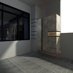 Proposed Interior Design for 2-Storey Terrace House:  Terrace by Desquared Design