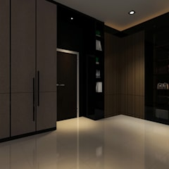 Proposed Interior Design for 2-Storey Terrace House:  Bedroom by Desquared Design