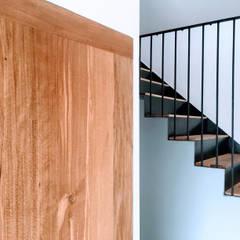 Projekty,  Schody zaprojektowane przez Ophélie Dohy architecte d'intérieur