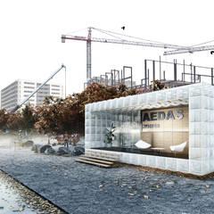Showoffice Aedas Homes: Oficinas y Tiendas de estilo  de DOA Arquitectura