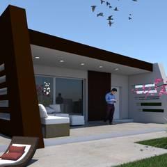 Villa Mi-Sa: Casa unifamiliare in stile  di Studio Veca