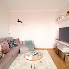 Sala de estar : Salas de jantar  por Rima Design