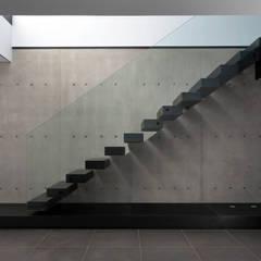 Escaleras de estilo  por Mano de santo - Equipo de Arquitectura