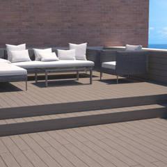 Zona chill out: Terrazas de estilo  de Juan Millán Peregrín - Arquitecto autónomo