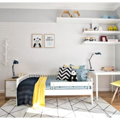 RG Home Stylist: iskandinav tarz tarz Çocuk Odası