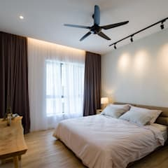 NAUTICA LAKESUITES CONDOMINIUM , KL:  Bedroom by BND STUDIO