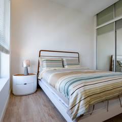 NAUTICA LAKESUITES CONDOMINIUM , KL:  Bedroom by BND STUDIO