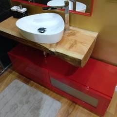 ห้องน้ำ โดย Angelourenzzo - Interior Design, สแกนดิเนเวียน