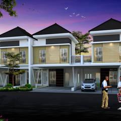 Condominios de estilo  por Ikhwan desain