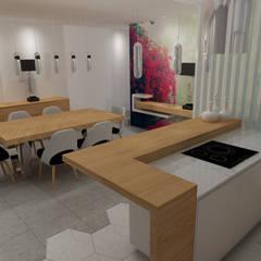 مطبخ تنفيذ Angelourenzzo - Interior Design
