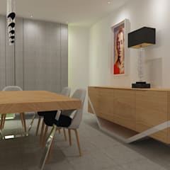 Sala de Jantar: Salas de jantar  por Angelourenzzo - Interior Design