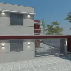 Complejo Habitacional - Lujàn de Cuyo.: Condominios de estilo  por Agustín Reyes - Zoom Arquitectura.