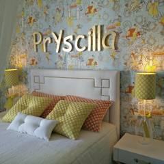 Apartamento no centro de Lisboa : Quartos  por Angelourenzzo - Interior Design