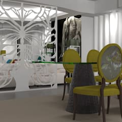Apartamento no centro de Lisboa : Salas de jantar  por Angelourenzzo - Interior Design