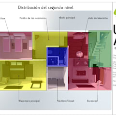 Diseño de interiores: Comedores de estilo clásico por Casa+Calle Estudio