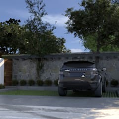 โรงรถและหลังคากันแดด by JC Arquitectos