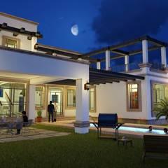 AC House.: Villas de estilo  por BUILD ARQUITECTURA, Clásico