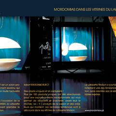 Paris Design Week - Montra Galerias Lafayette Maison: Espaços comerciais  por THAT PLACE - Zoom Way Lda.