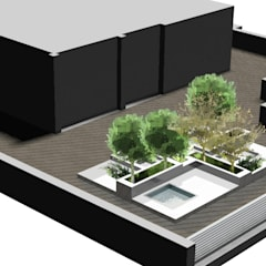 Terraço: Terraços  por THAT PLACE - Zoom Way Lda.