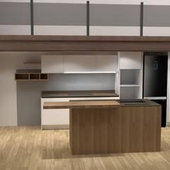 CUCINA SOTTO SOPPALCO: Cucina in stile  di G&S INTERIOR DESIGN
