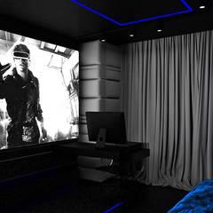 TAKE YOUR TIME! | Wnętrza apartamentu: styl , w kategorii Pokój multimedialny zaprojektowany przez ARTDESIGN architektura wnętrz