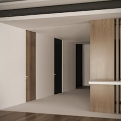 Corridor, hallway by StudioArchPellicano