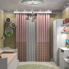 Chambre fille de style  par Caren Stellfeld - Decoração de Interiores