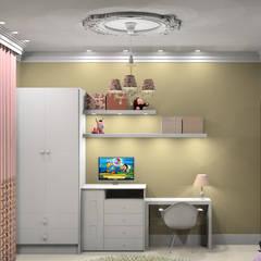 Recámaras para niñas de estilo  por Caren Stellfeld - Decoração de Interiores
