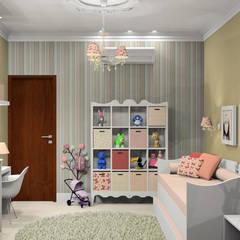 Kamar tidur anak perempuan by Caren Stellfeld - Decoração de Interiores