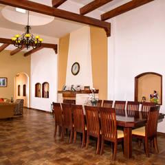 غرفة السفرة تنفيذ RIAN INMOBILIARIA SA DE CV