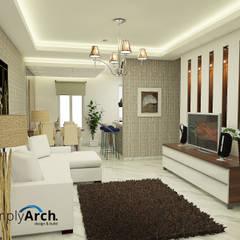 :  Ruang Keluarga by Simply Arch.