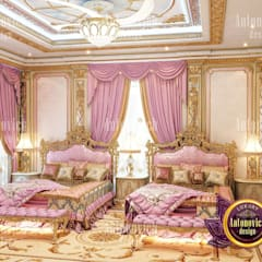 ​Beautiful ideas for kids room from Katrina Antonovich:  Bedroom by Luxury Antonovich Design