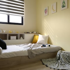 Teen bedroom by 達譽設計,
