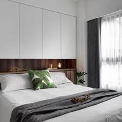 砌 禾:  臥室 by 御見設計企業有限公司