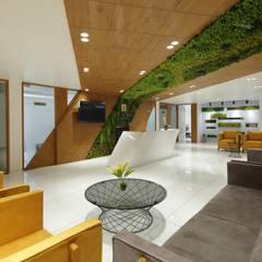 Reception Waiting:  Office buildings by malvigajjar