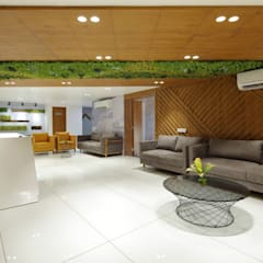 Waiting Lounge:  Office buildings by malvigajjar
