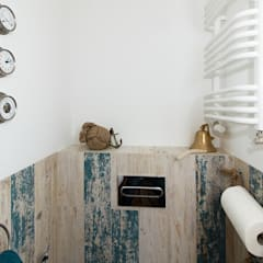 Warszawska kajuta: styl , w kategorii Łazienka zaprojektowany przez Perfect Space