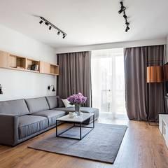Sweet home Warsaw: styl , w kategorii Salon zaprojektowany przez Perfect Space