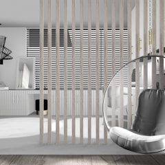 DOM JEDNORODZINNY POD KRAKOWEM: styl , w kategorii Pokój dziecięcy zaprojektowany przez 91m2 Architektura Wnętrz