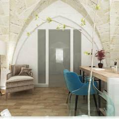 Phòng học/Văn phòng theo De Vivo Home Design, Mộc mạc