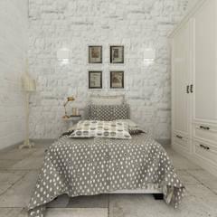 Apulia House AA: Camera da letto in stile  di De Vivo Home Design